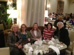 My Mom, Myself, Nicole, Robyn and Grandma having afternoon tea