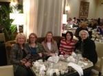 My Mom, Myself, Nicole, Robyn and Grandma having afternoon tea
