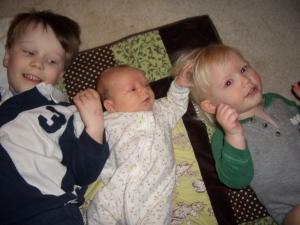 My three little teachers!